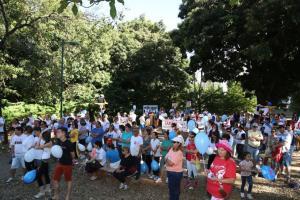 Semana Nacional da Família - Paróquia  Nossa Senhora de Fátima Caminhada da Família!
